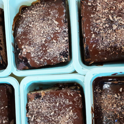 Hot Chocolate Pudding With Argyll Coffee