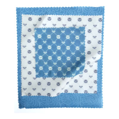 Beeswax Food Wrap Variety Pack Bee Blue