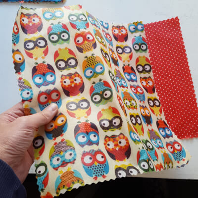 Beeswax Wraps Owl Lunch Pack LNF