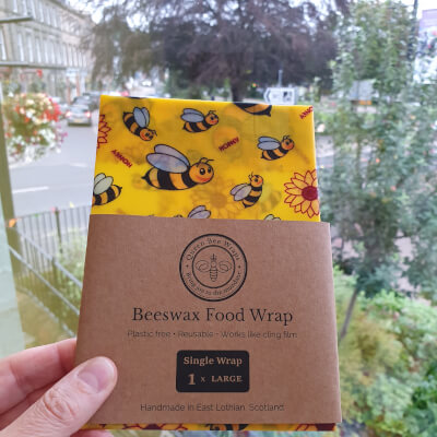 Beeswax Single Wrap - Large : Design Bees