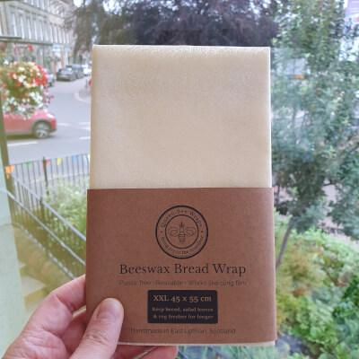 Winter Sale:Beeswax Bread/Veg Wrap: Design Pastel Cream