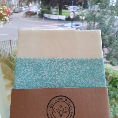 Beeswax Food Wraps - Lunch Pack Of 2 - Pastel