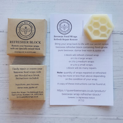 (Blairgowrie) Repair & Refresh Your Beeswax Wraps