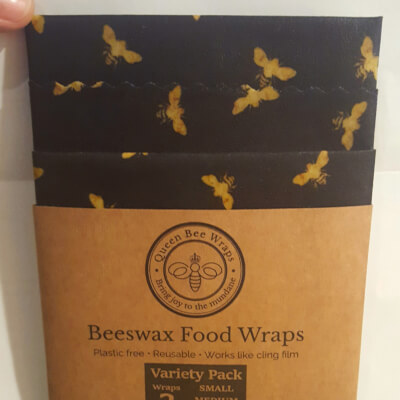 Beeswax Wrap Black And Gold Variety Pack All Black