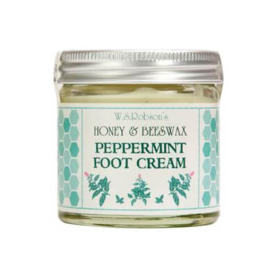 Honey And Beeswax Peppermint Foot Cream 50g