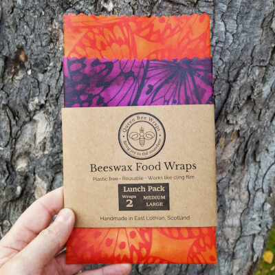 Frome - Beeswax Wraps Butterfly Lunch Pack
