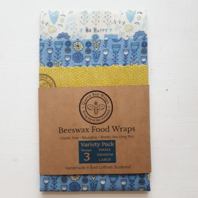 Beeswax Wraps Scandi Flora Variety Pack Lnf
