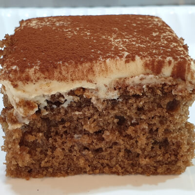 Cappuccino And Walnut Cake