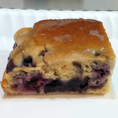 Blueberry Vegan Sponge