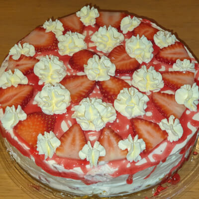 Strawberry Cheesecake (Whole)