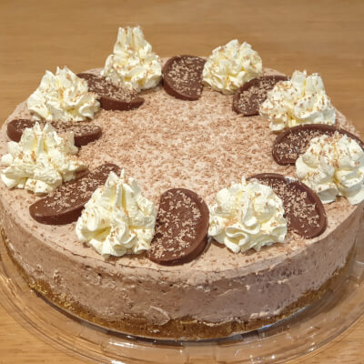 Terry's Chocolate Orange Cheesecake (Whole)