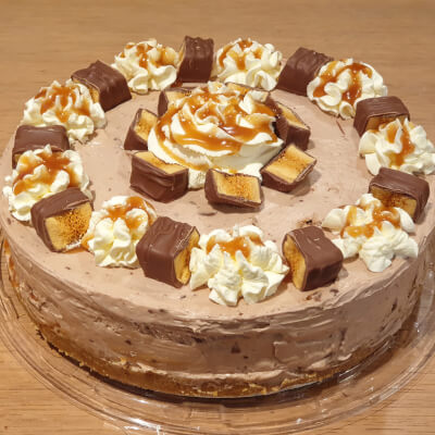 'Crunchie Bar' Cheesecake (Whole)