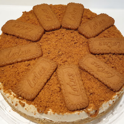 Biscoff Cheesecake (Whole)