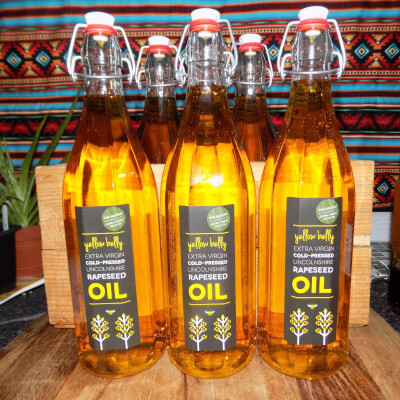 Lincolnshire Coldpressed Rapeseed Oil