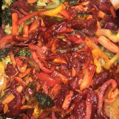Sirloin Steak Stir-Fry
