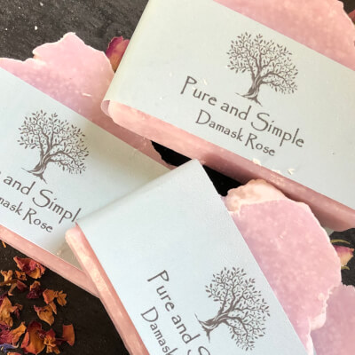 Damask Rose Soap
