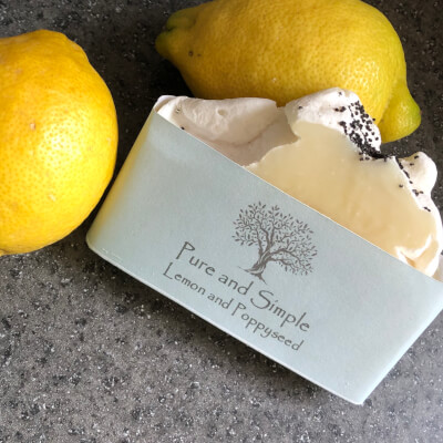 Lemon And Poppyseed Soap