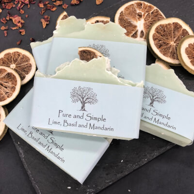 Lime, Basil And Mandarin Soap