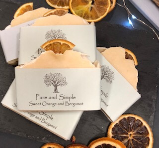 Sweet Orange And Bergamot Soap
