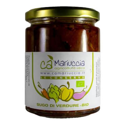 Organic Seasonal Vegetables Sauce