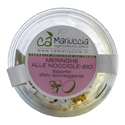 Organic Hazelnut Meringue