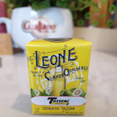 Leone Sugar Candies Cedrata Tassoni