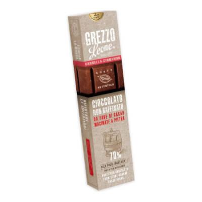 Cinnamon Stone-Ground Chocolate Bar