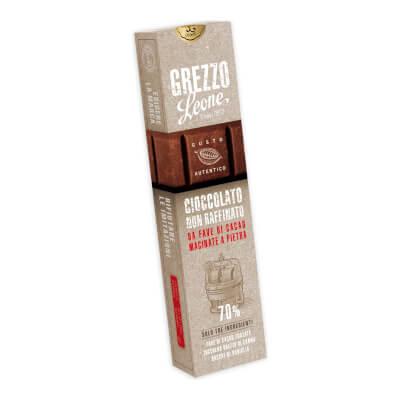 Stone-Ground Dark Chocolate Bar 70%