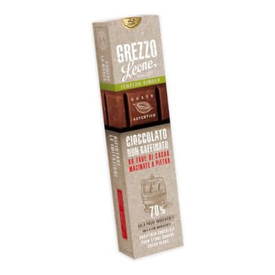 Ginger Stone-Ground Chocolate Bar