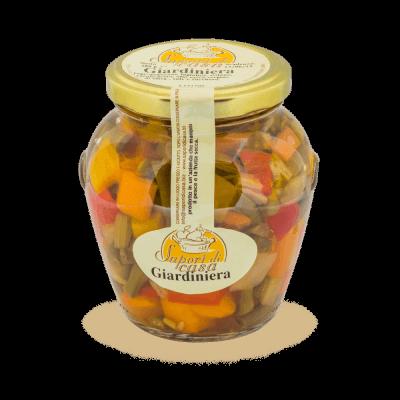 Pickled Vegetables In Olive Oil