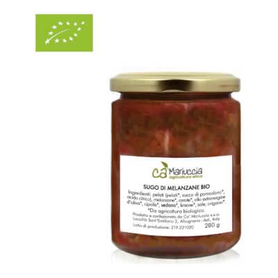 Organic Tomato Sauce With Aubergine