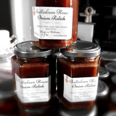 Balliskeen House Savoury Onion  Relish