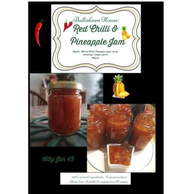 Pineapple & Chilli Jam