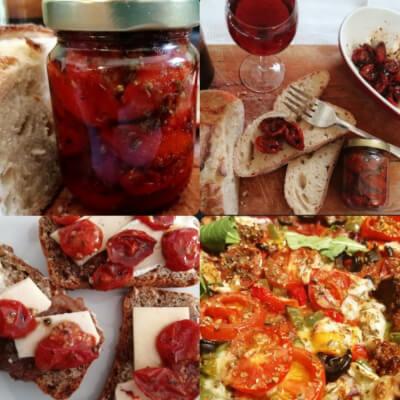 Blush Roasted Tomatoes