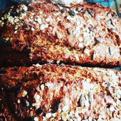 Oaty Wholewheat & Pumpkin Seed Large 2Lb  Loaf