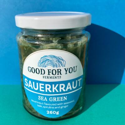 Sea Green Sauerkraut