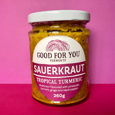 Tropical Turmeric Sauerkraut