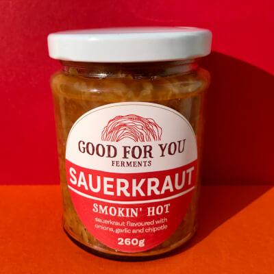 Smokin' Hot Sauerkraut