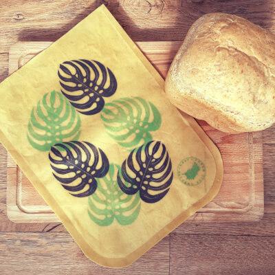 Waxed Bread Pouch