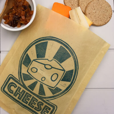 Waxed Cheese Pouch
