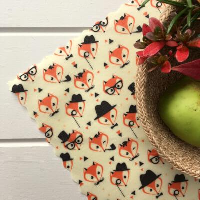 12 Inch All-Purpose Wrap - Dapper Foxes