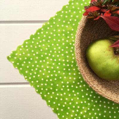 12 Inch All-Purpose Wrap - Lime Polkadot