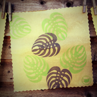 12 Inch All-Purpose Wrap - Monstera Leaf