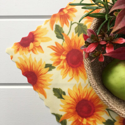 12 Inch All-Purpose Wrap - Sunflowers