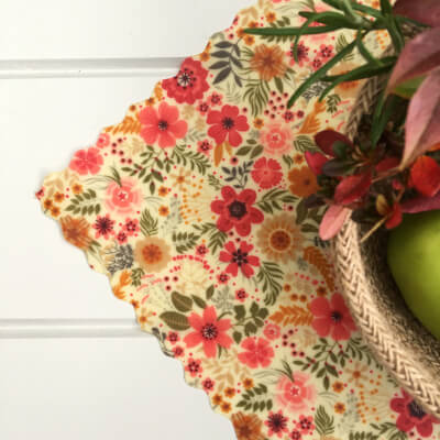 12 Inch All-Purpose Wrap - Vintage Flowers