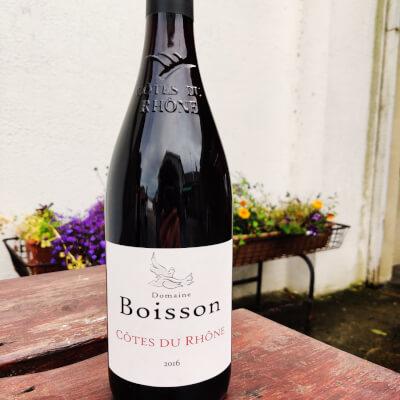 Côtes Du Rhône (Red), Domaine Boisson 2016, France