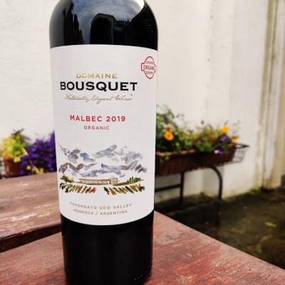 Malbec Organic (Red), Domaine Bousquet 2019, Argentina
