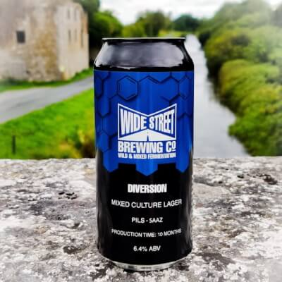 New: Wide Street Brewing: 'Diversion' Mixed Culture Lager (6.4%)