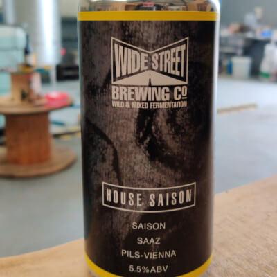 Wide Street Brewing: House Saison