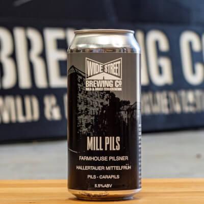 Wide Street Brewing: Mill Pils